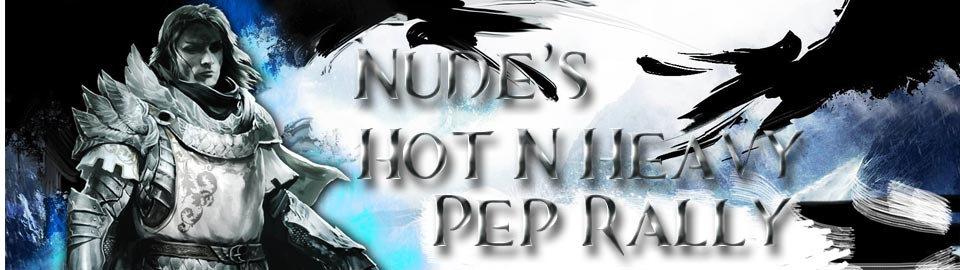 NUDE's Hot N' Heavy EL Hosting Pep Rally