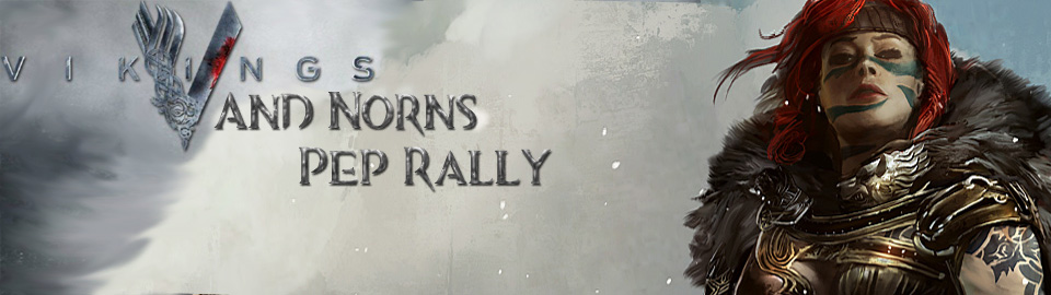 NUDE's Vikings & Norn Pep Rally Fall 2020